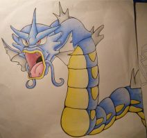 Gyrados by LugiaUmbreonPower