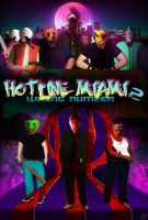 Hotline Miami 2: Wrong Number fan poster by AdamMarcus