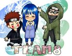 chibi team 8 by yuipo