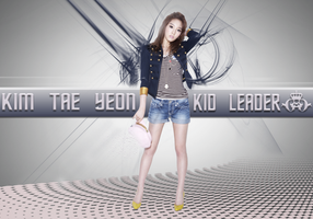 Taeyeon Abstract Wallpaper by ExoticGeneration21