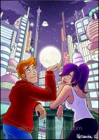 Futurama - I'd give you the moon... by Aleccha