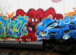 Boxcar Graffiti Number Four by BuzzyG