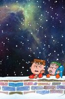 Charlie Brown Christmas (iphone wallpaper) by drexxs