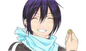 Yato - the last smile by kazekage121