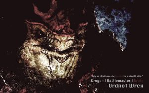 Urdnot Wrex Wallpaper by AbuZafar