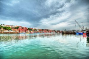 Whitby Marina by taffmeister