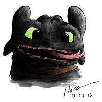 HTTYD - Toothless, Redone by INH99