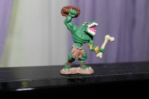 Lizard Man Mini by Misa-on-Wheels