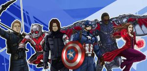 Team Captain America by gscratcher