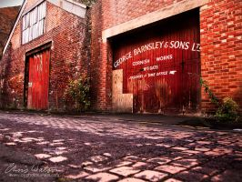 Old George Barnsley works, Sheffield by chriswatsonphotograp
