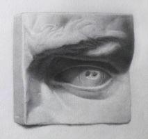 Cast Drawing - Eye by Andantonius