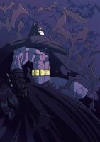 Batman New 52 by J0N-Lankry