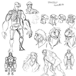 Project Solaris Sketches by goeliath