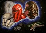 Star Wars: Maskuerade by GaelicTooL