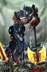Optimus Prime - Never Give Up by suzuran