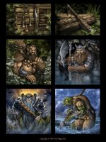 MAGUS card illustration 2011. by Symerinart
