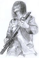 Jim Root from Slipknot by Cruit
