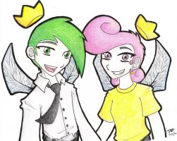 Cosmo and Wanda by DrLyzerg