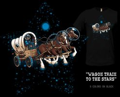 Wagon Train To The Stars by InfinityWave