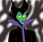 Maleficent by Lux-Dragon-of-Light