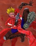 Trigger Happy Vash by dijitaruhana