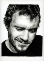Heath Ledger by THBlanchard
