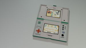 Game and Watch - Zelda by 100SeedlessPenguins