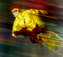 Kid Flash by Scribbletati