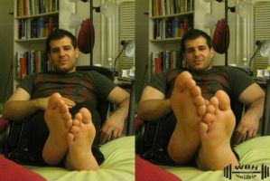Bigfoot Relaxing by wannabehuge