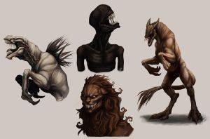 Creature dump 03. by Notesz