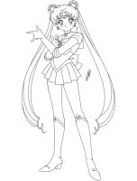 Sailor Moon -Lineart- by Krizeii