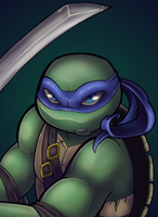 Leonardo by TurtieDroppings