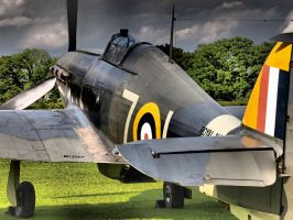 Sea Hurricane - Old Warden by davepphotographer