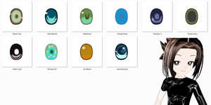 Vocaloid PV Eye Pack by StephShion