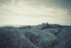Land at Oceans end by EvanHolm