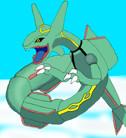 Rayquaza by DarkDragon-Phoenix