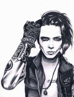 Andy Biersack by Zyca