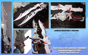 Final Fantasy XIII: Gunblade by Hei-Chan