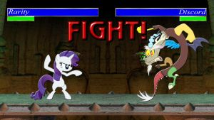 Pony Kombat Tournament Round 1, Battle 6 by Macgrubor