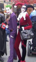 Joker and Harley by Lioness123
