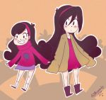 Mabel and Future by Alicexandy