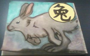 The Rabbit - Chinese Zodiac by Konack1