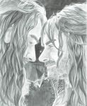 Thorin and Kili (movie moments) by BethannNg