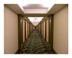 hotel hallways of the world by scarlet1800