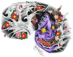 HANNYA TO SAKURA by ryanschipper89
