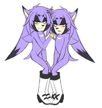 Conjoined Twins Adoptable -CLOSED- by Incognito-Torpedo