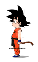 Little Son Goku by aninhachanhp