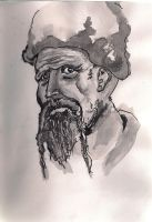 Cossack sketch by smallblackbook