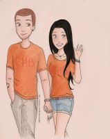 Charles and Silena by xsweetsillygirl