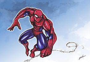 Spidey quick draw by YoulDesign